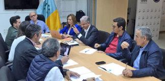 Reunión secretarios insulares de CC. Cedida. NOTICIAS 8 ISLAS.