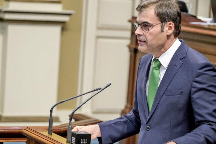 Fernando Enseñat, presidente del PP de Fuerteventura. Pepe Torres. NOTICIAS 8 ISLAS.