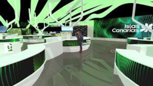El Pabellón de Canarias en Fitur 2020 tiene 1.425 m2./ Cedida.