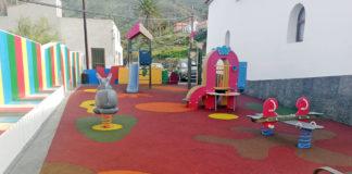 Parque infantil Alojera. Cedida. NOTICIAS 8 ISLAS.