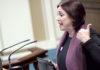 María del Río, presidenta del Grupo Parlamentario de Sí Podemos Canarias. Cedida. NOTICIAS 8 ISLAS.