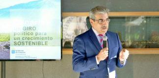 Román Rodríguez, se reunió hoy con la junta directiva del CEST. Cedida. NOTICIAS 8 ISLAS.