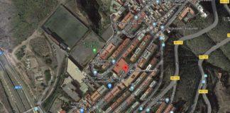 Vista aérea de la zona. Google.