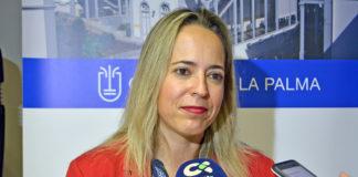 Susana Machín, consejera responsable del área de Educación. Cedida. NOTICIAS 8 ISLAS.