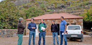 Obras de mejora que se han ejecutado en la Finca de Las Nieves. Cedida. NOTICIAS 8 ISLAS.