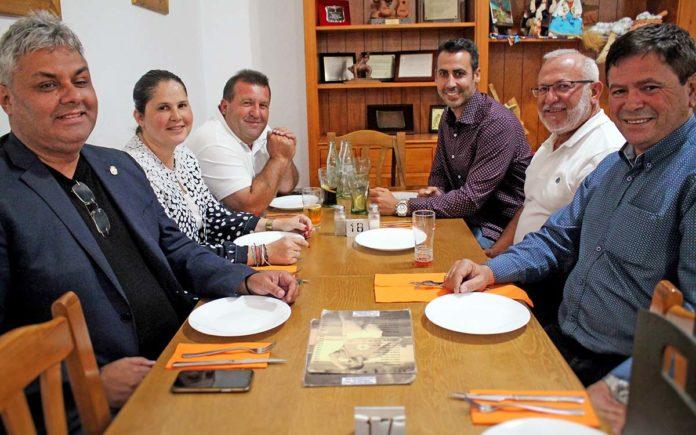 Un momento de el encuentro de los seis alcaldes de Fuerteventura. Cedida. NOTICIAS 8 ISLAS.