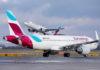 Compañía aérea Eurowings. Cedida. NOTICIAS 8 ISLAS.