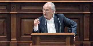 Juan Manuel García Ramos, diputado del Grupo Nacionalista Canario. Cedida. NOTICIAS 8 ISLAS.
