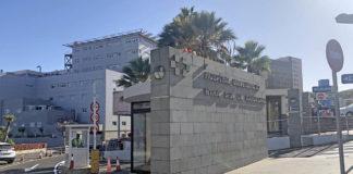 Hospital Nuestra Señora de Candelaria, centro donde se ha confirmado el positivo. Manuel Expósito. NOTICIAS 8 ISLAS.