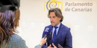 Gustavo Matos, presidente del Parlamento de Canarias. Cedida. NOTICIAS 8 ISLAS.