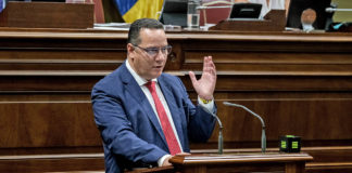 Poli Suárez, portavoz adjunto del Grupo Parlamentario Popular. Pepe Torres.