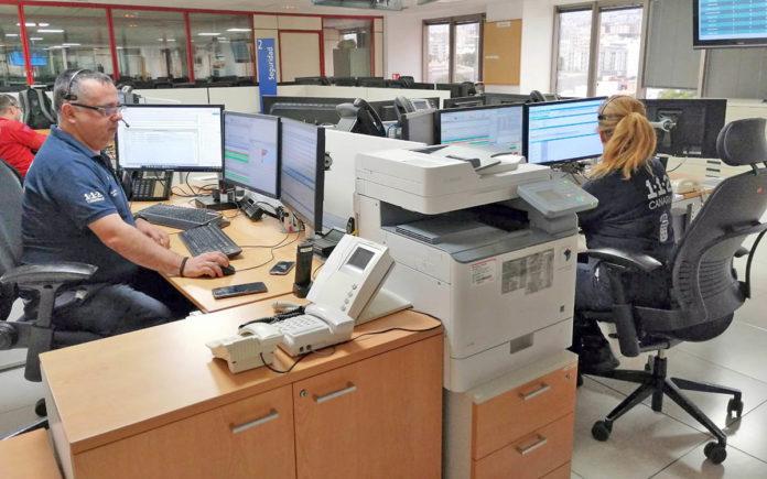 Sala operativa CECOES 1-1-2 de Tenerife. Cedida. NOTICIAS 8 ISLAS.