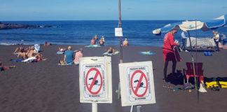 Cierre de la playa. Cedida. NOTICIAS 8 ISLAS.