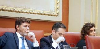 El Grupo Popular en el Pleno del ayuntamiento de Santa Cruz. Cedida. NOTICIAS 8 ISLAS.