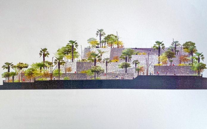 Infografía del Parque de El Convento. Cedida. NOTICIAS 8 ISLAS.