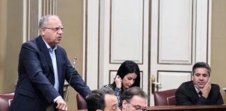 Casimiro Curbelo, portavoz del Grupo Parlamentario de ASG. Cedida. NOTICIAS 8 ISLAS.