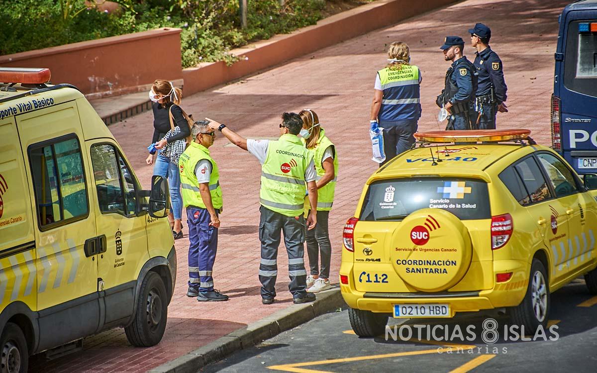 Cuarentena en un hotel del Sur de Tenerife, 'ensayo general' de las medidas ante la COVID-19