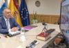 Segunda reunión por videoconferencia convocada por el presidente Pedro Sánchez. Cedida.