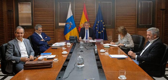Reunión del Comité de Emergencia Sanitaria. Cedida. NOTICIAS 8 ISLAS.