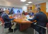 Un momento de la reunión con el Consejo Asesor. Cedida. NOTICIAS 8 ISLAS.