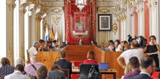 Pleno del Ayuntamiento capitalino./ Cedida.