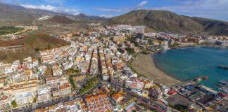Vista aérea de Los Cristianos, Arona. Cedida. NOTICIAS 8 ISLAS.