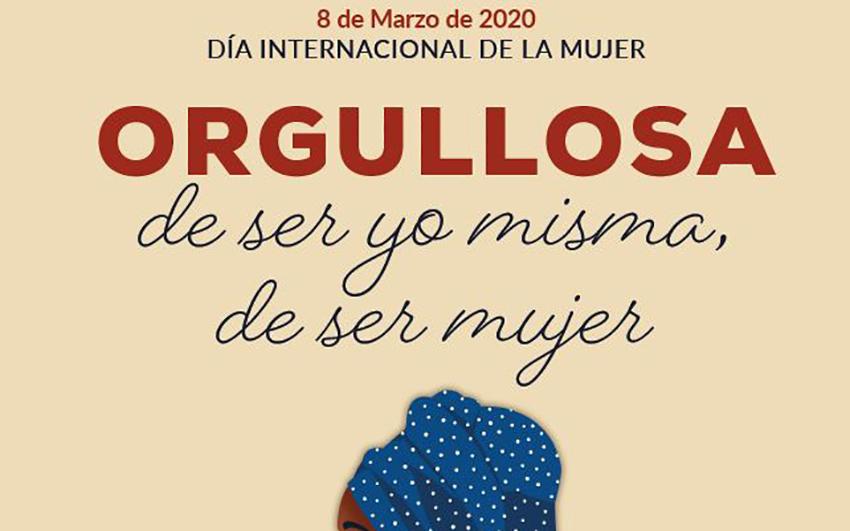 """Resultado de imagen de """"Orgullosa de ser yo misma, de ser mujer"""", lema de La Orotava para celebrar el mes de la Mujer"""