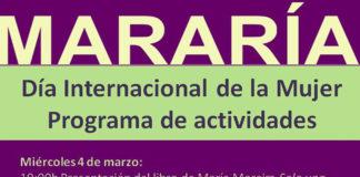 Cartel actividades Mararía