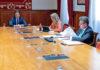 Reunión telemática de la Mesa y la Junta de Portavoces. Cedida. NOTICIAS 8 ISLAS.