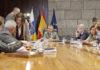 Consejo de Gobierno extraordinario celebrado hoy en S/C. de Tenerife. Cedida. NOTICIAS 8 ISLAS.