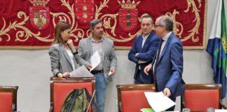 Jesús Ramos en la Comisión Turismo. Cedida. NOTICIAS 8 ISLAS.