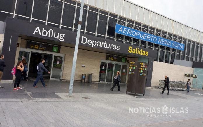 Aeropuerto Tenerife Sur - Reina Sofía. Manuel Expósito. NOTICIAS 8 ISLAS.