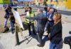 Ordenación del tránsito peatonal y de vehículos entre el barrio La Suerte y Cruz del Ovejero (Tamaraceite). Cedida. NOTICIAS 8 ISLAS.