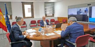 Reunión Comité de Gestión de Emergencia Sanitaria. Cedida. NOTICIAS 8 ISLAS.