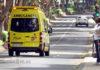Ambulancia en servicio de urgencia. Trino Garriga. NOTICIAS 8 ISLAS.