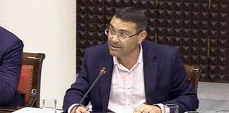 Oswaldo Betancort, diputado del Grupo Nacionalista Canario. Cedida. NOTICIAS 8 ISLAS.