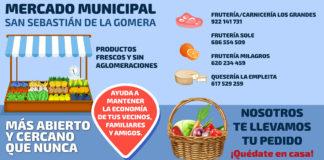 Publicidad Mercado Municipal de San Sebastián de La Gomera. Cedida. NOTICIAS 8 ISLAS.