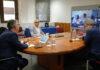 Reunión del Comité de Gestión de Emergencia Sanitaria. cedida. NOTICIAS 8 ISLAS.