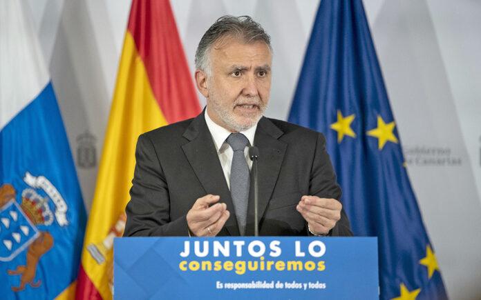 Ángel Víctor Torres, presidente de Canarias. Cedida. NOTICIAS 8 ISALAS.