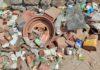 Residuos retirados en el Parque Nacional del Teide. Cedida. NOTICIAS 8 ISLAS.