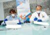 Ashotel firma un convenio con los laboratorios Eurofins LGS Megalab para realizar test rápidos. Cedida. NOTICIAS 8 ISLAS.