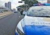 Control de tráfico, S/C. de Tenerife./ Twitter Policia Local de S/C. de Tenerife.