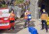 Entrega del cloro en las instalaciones del Parque Marítimo de S/C. de Tenerife. Cedida. NOTICIAS 8 ISLAS.