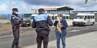 Reparto de mascarillas sanitarias, La Frontera, El Hierro. Cedida. NOTICIAS 8 ISLAS.