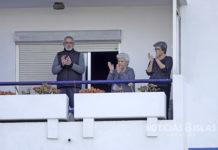 Aplausos homenaje de las 19:00 h., Ofra, Santa Cruz de Tenerife. Manuel Expósito. NOTICIAS 8 ISLAS.