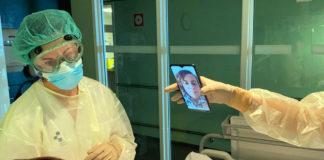 El Insular-Materno Infantil conecta a familiares y pacientes hospitalizados. Cedida. NOTICIAS 8 ISLAS.