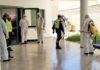 Desinfección por la UME de la Residencia de Mayores de Los Cristianos. Cedida. NOTICIAS 8 ISLAS.