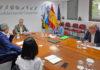 Reunión de hoy del Comité de Gestión Económica. Cedida. NOTICIAS 8 ISLAS.