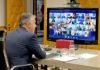 Videoconferencia entre Pedro Sánchez y las CCAA. Cedida. NOTICIAS 8 ISLAS.
