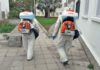 Desinfección de vías públicas, S/C. de Tenerife. Cedida. NOTICIAS 8 ISLAS.